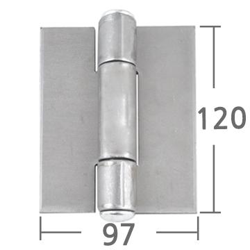 철용접경첩 120