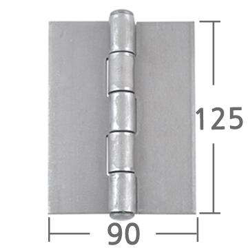 철용접경첩 125