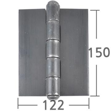 철용접경첩 150