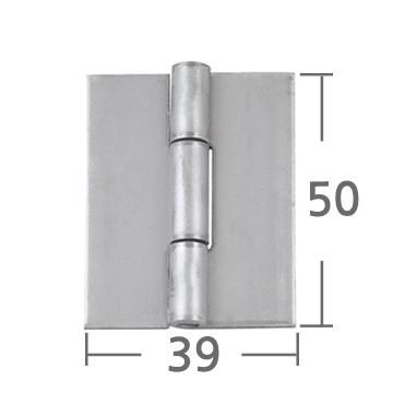 철용접경첩 50