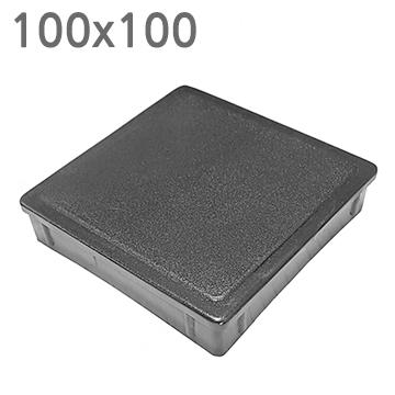 사각 PVC캡 100100