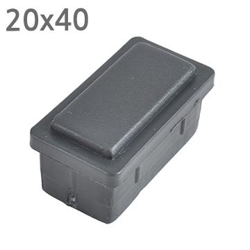 사각 PVC캡 2040