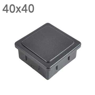 사각 PVC캡 4040